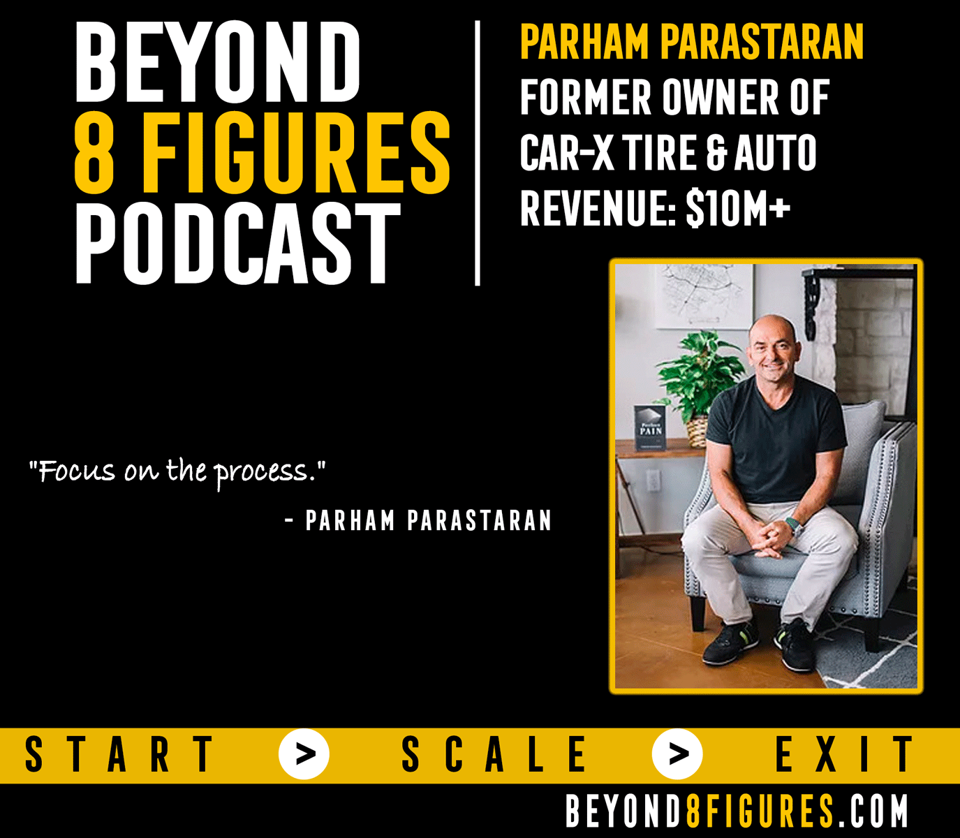 $10M+ Exit –  Parham Parastaran, Car-X Tire and Auto