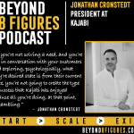 $10M+ in annual revenue – Jonathan Cronstedt Runs Kajabi