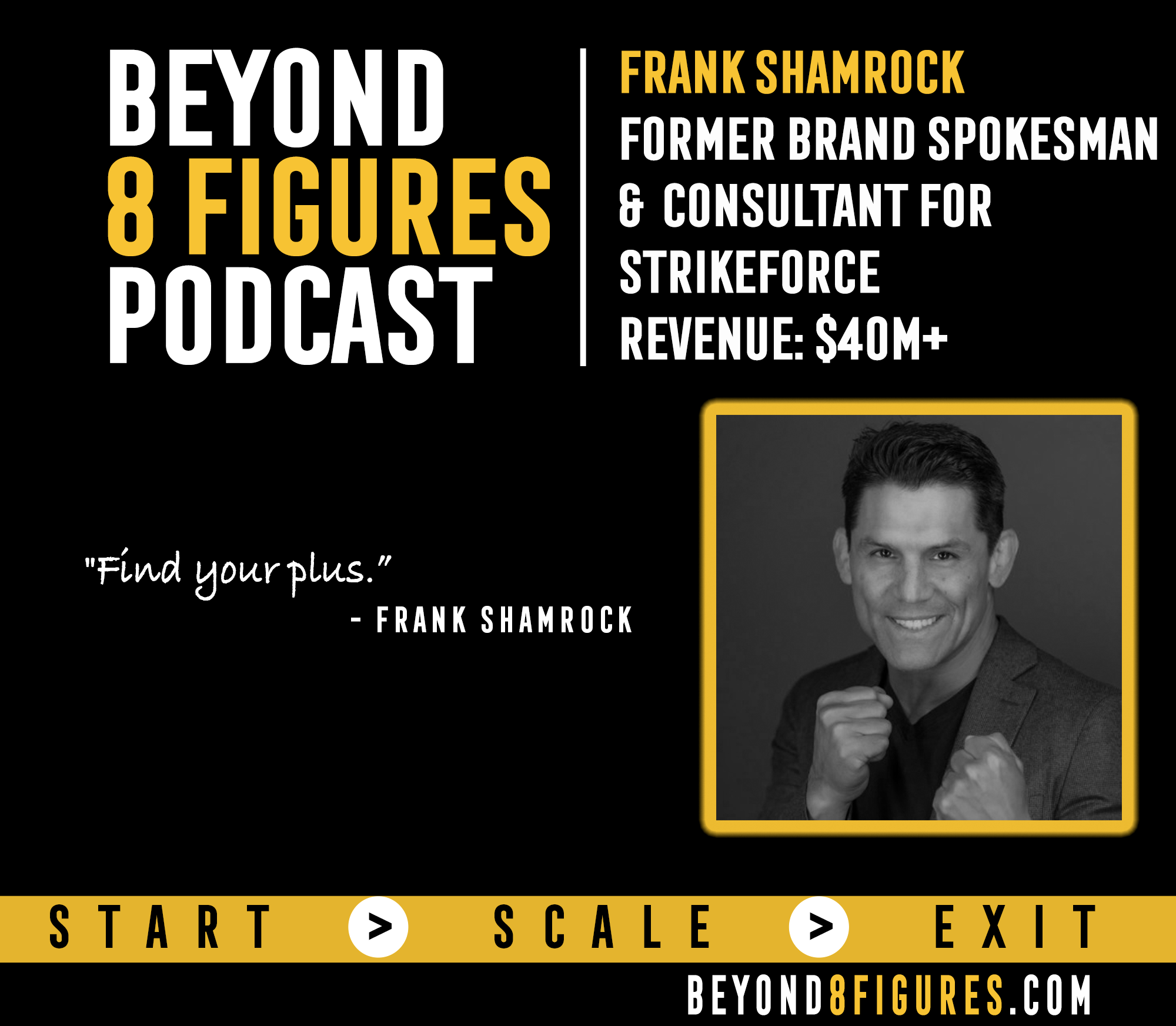 Frank Shamrock Exited Strike Force for $40M