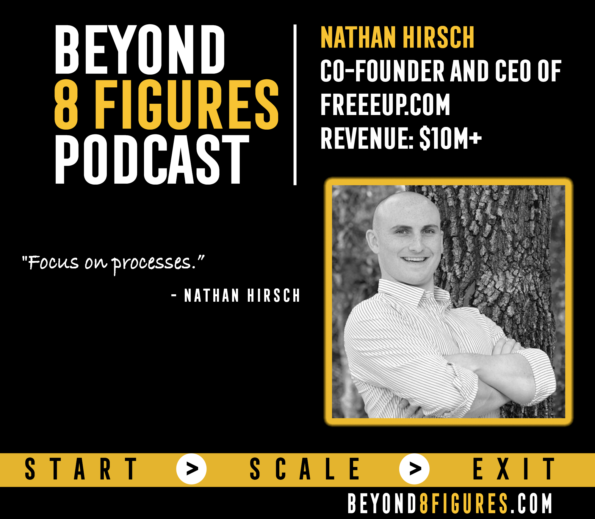 $10+M in Annual Revenue – Nathan Hirsch, Freee Up
