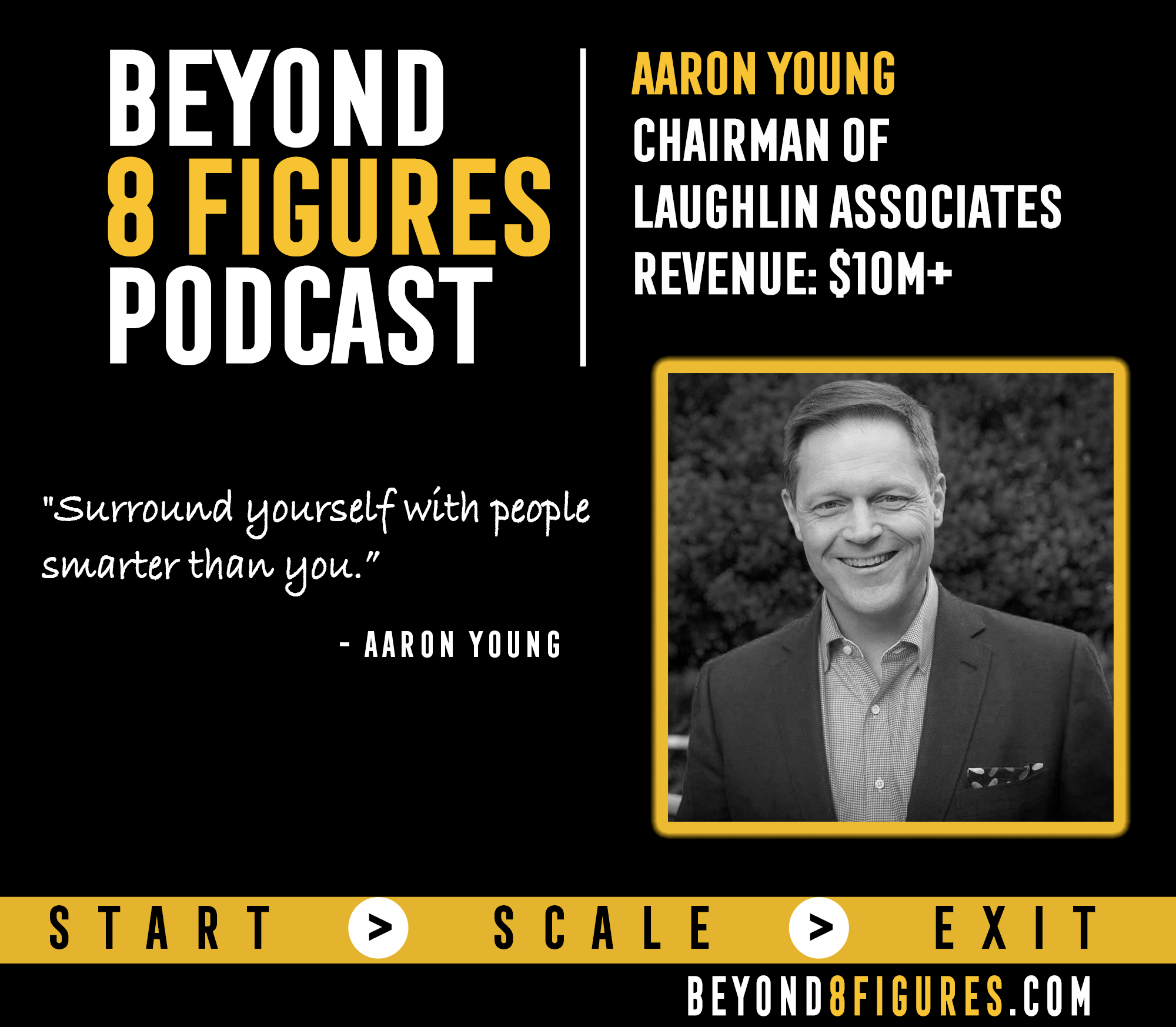 $10M+ in Annual Revenue – Aaron Young Runs Multiple Companies