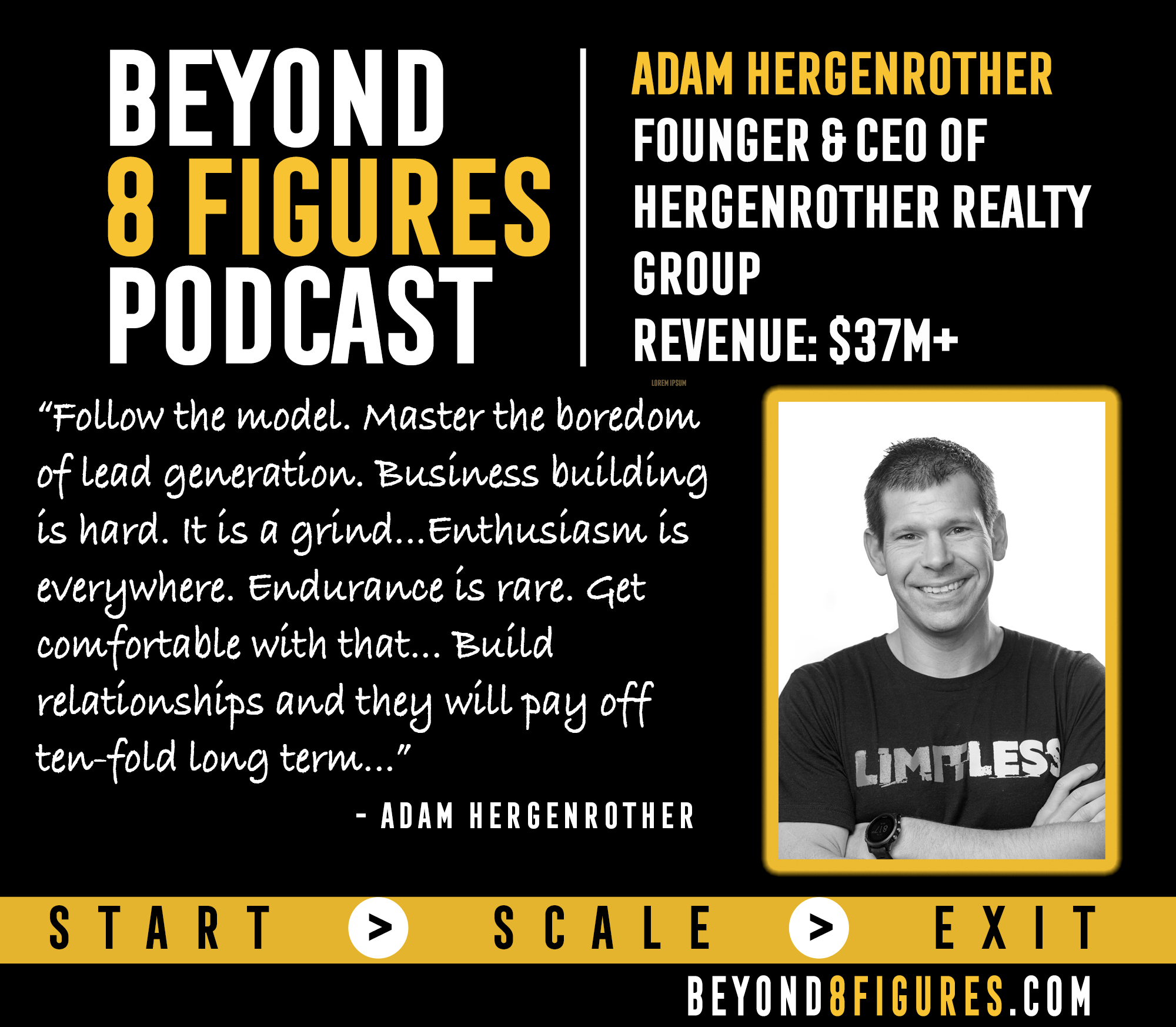 $37M+ in Revenue – Adam Hergenrother, Adam Hergenrother Companies
