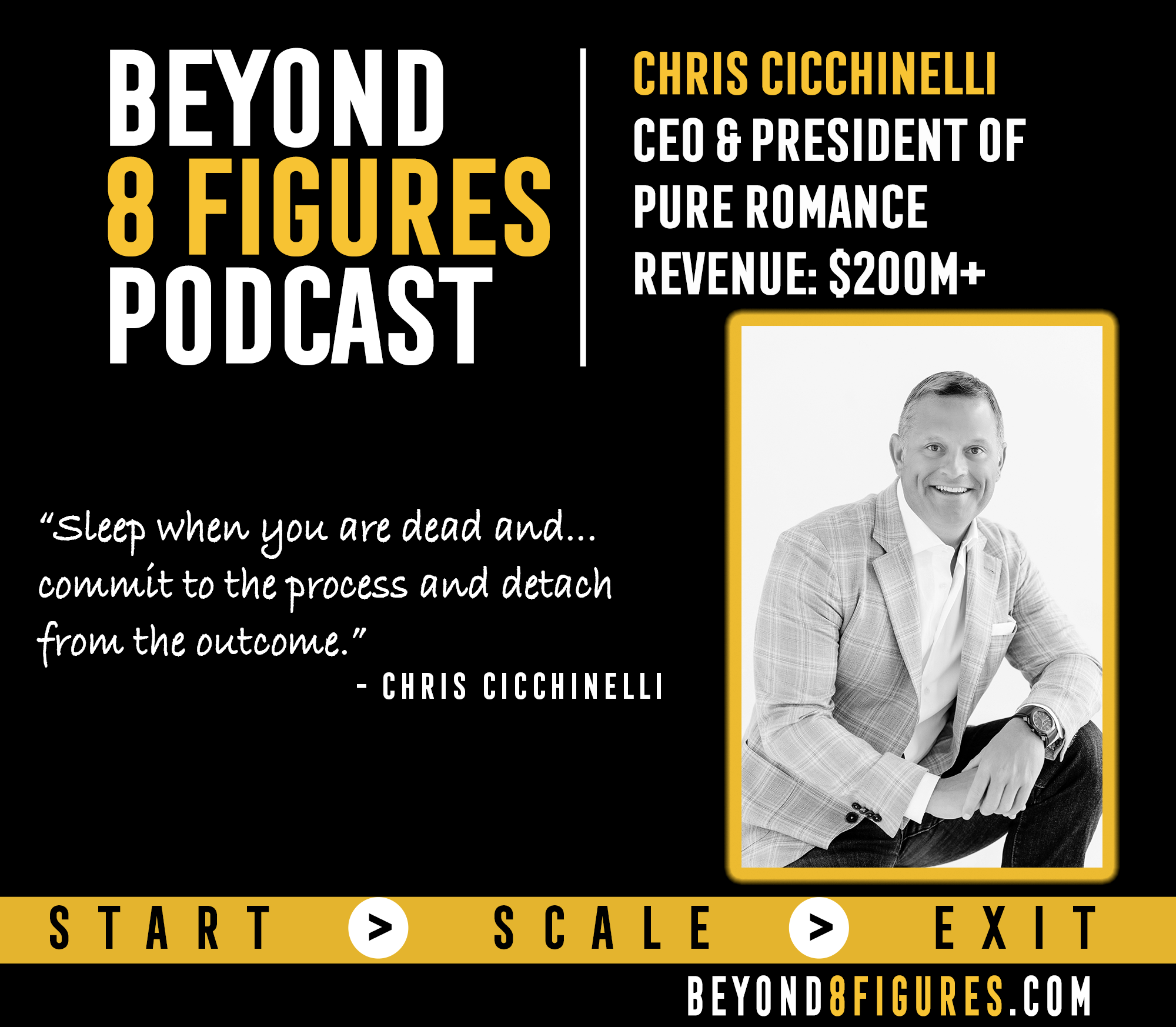 $200M+ Annually – Chris Cicchinelli, Pure Romance