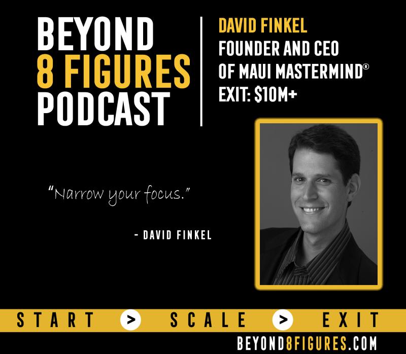 David Finkel, Maui Mastermind