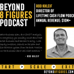 $10+ Million in Annual Revenue – Rod Khleif, Lifetime Cash Flow Podcast
