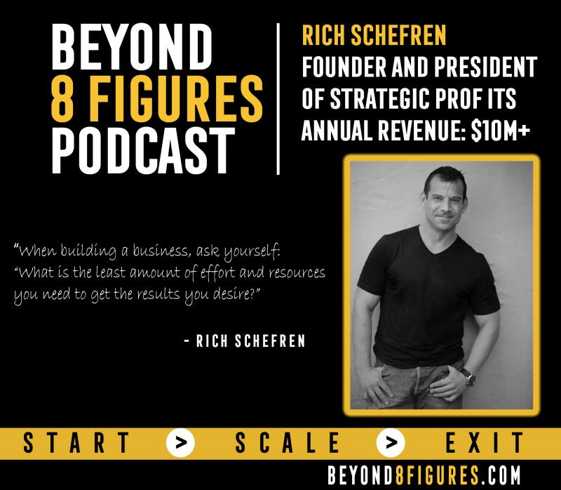 Rich Schefren, Strategic Profits